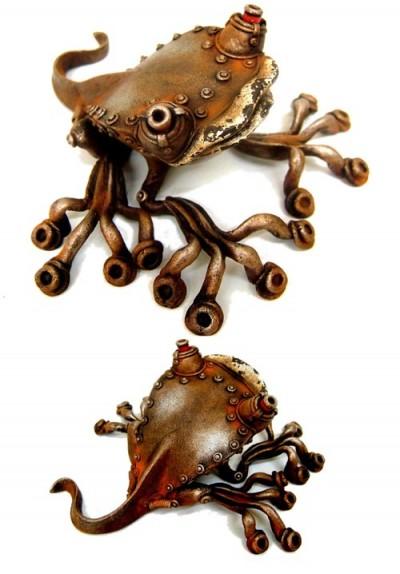 Стимпанковый зверинец Митихиро Мацуока (Фото 3)