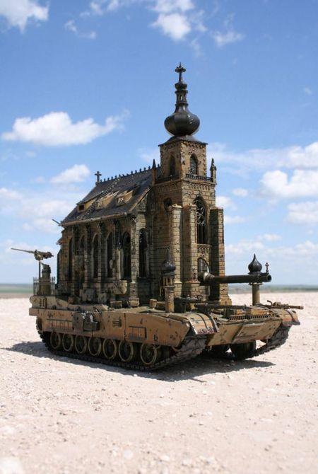 Машина апокалипсиса(мрачное искусство Криса Кукси) (Фото 10)