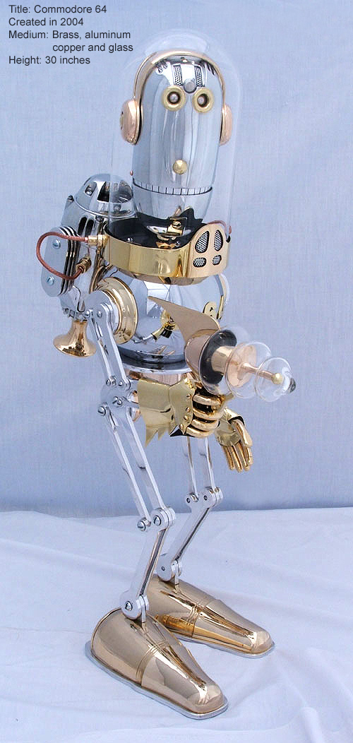 The Steampunk Robots Of Lawrence Northey. (Фото 5)