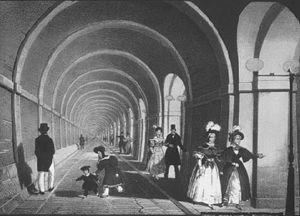 В Лондоне в последний раз открыли туннель под Темзой, чтобы вскоре закрыть навсегда... (Фото 4)