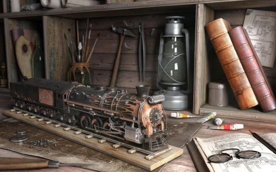 """3D Steam"" Дениса Толкишевского (Фото 3)"