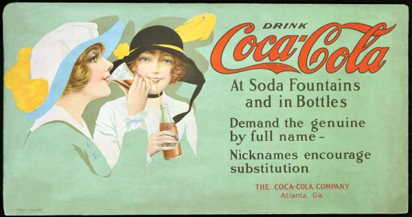 Coca-Cola в модных журналах и постеры (Фото 6)