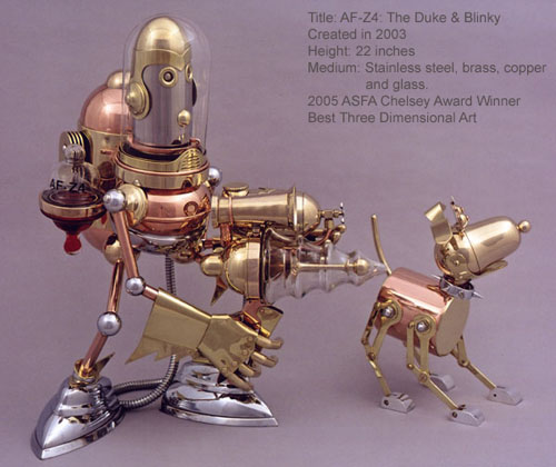 The Steampunk Robots Of Lawrence Northey. (Фото 23)