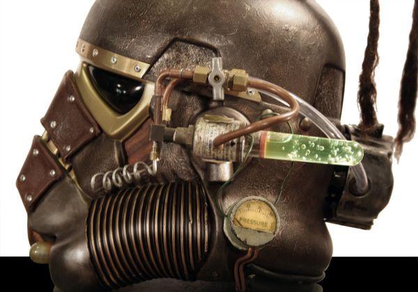Stormtrooper helmet. Шапка штурмовика-стимера. (Фото 5)