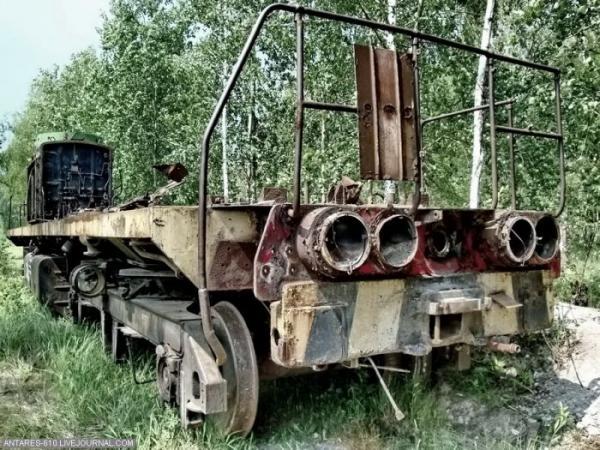 Кладбище поездов в Воскресенске (Фото 5)