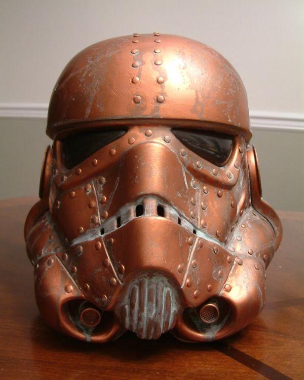 Stormtrooper helmet. Шапка штурмовика-стимера.