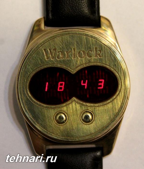 Наручные электронные часы с