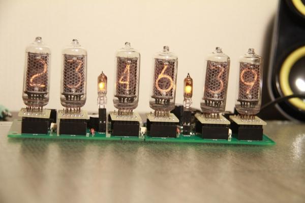 Начинка для часов на лампах ИН-8-2 и ИН-14.