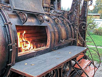 Мангал паровоз (Фото 6)