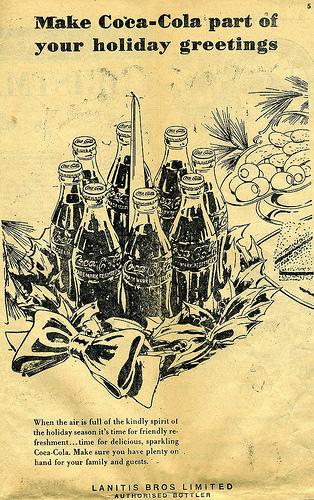 Газетная реклама Coca-Cola (Фото 9)