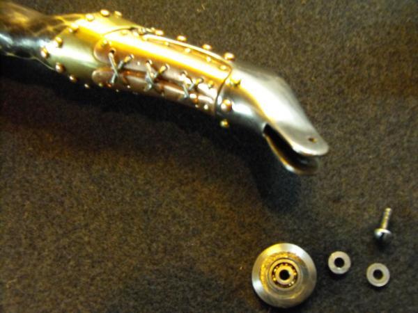 Сапог - инструмент чеканщика. (Фото 5)