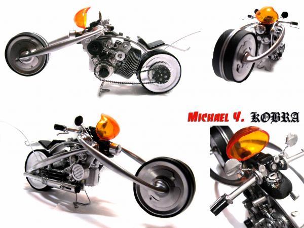 Мотоциклы из мусора от Michael Y. (Фото 3)