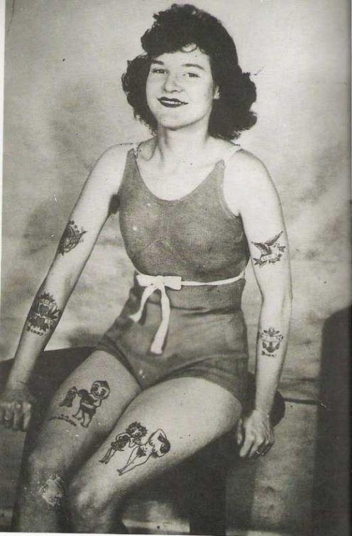 Викторианская татуировка. (Фото 20)