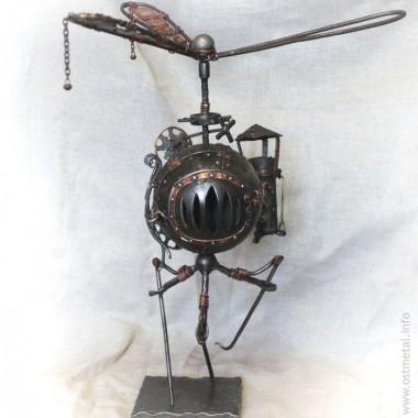 Металическая скульптура Антона Якушева