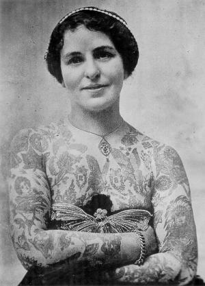 Викторианская татуировка. (Фото 6)