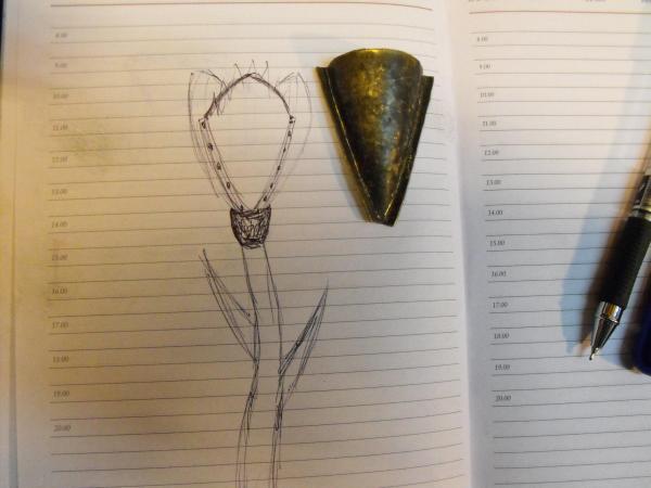 Цветок Николо Тесла  № 2 (Фото 7)