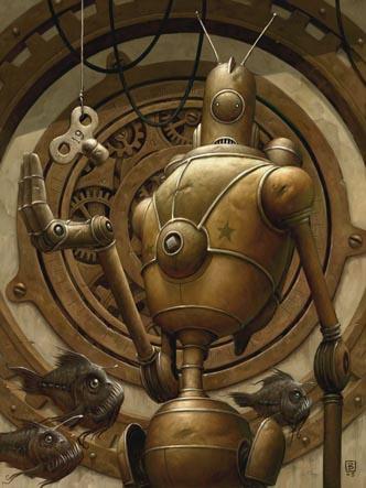 Добрые роботы Brian Despain. (Фото 17)