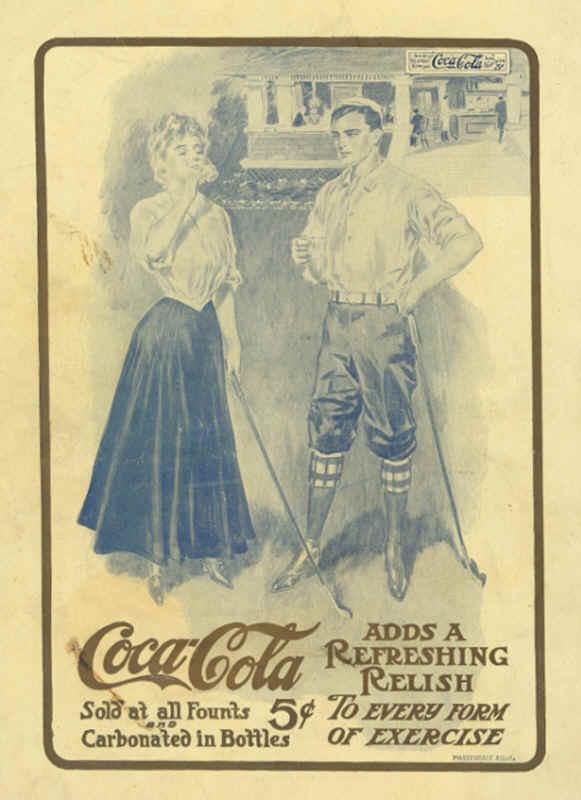 Coca-Cola в модных журналах и постеры (Фото 8)