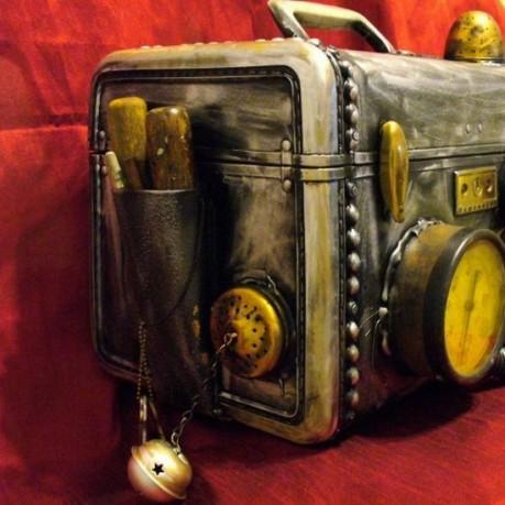 Стимпанковая корзина для пикника (Фото 4)