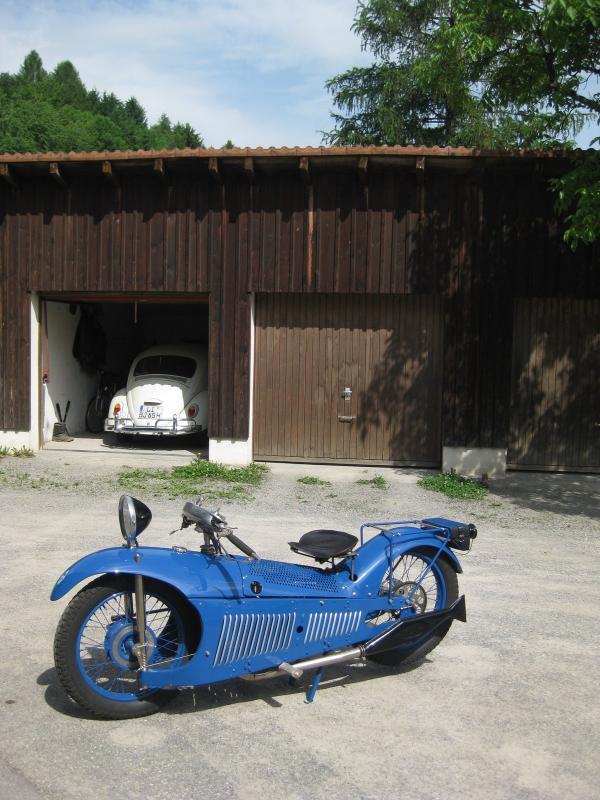 Французский Мотоцикл Majestic 1929 (Фото 2)