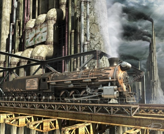 """3D Steam"" Дениса Толкишевского (Фото 4)"