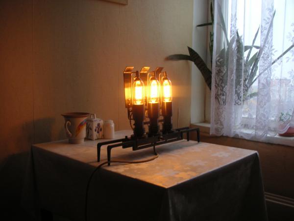 Создание светильника Frank buchwald-а