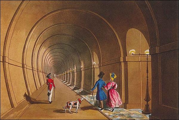 В Лондоне в последний раз открыли туннель под Темзой, чтобы вскоре закрыть навсегда... (Фото 2)