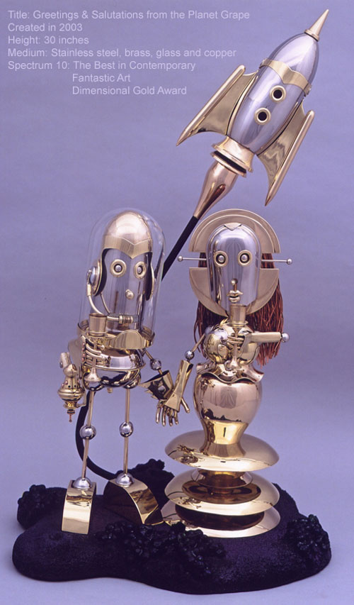 The Steampunk Robots Of Lawrence Northey. (Фото 8)