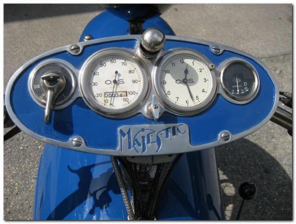 Французский Мотоцикл Majestic 1929 (Фото 6)