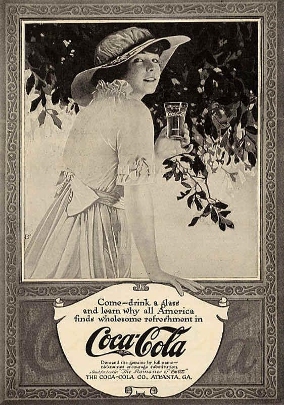 Газетная реклама Coca-Cola (Фото 20)