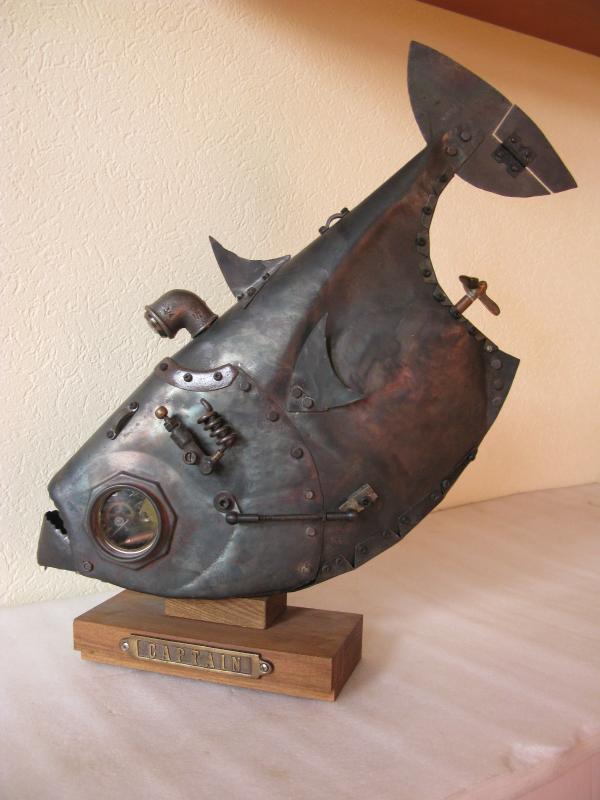 Стимпанк Рыба (публикуется ради заботы о сне admin'а) (Фото 2)