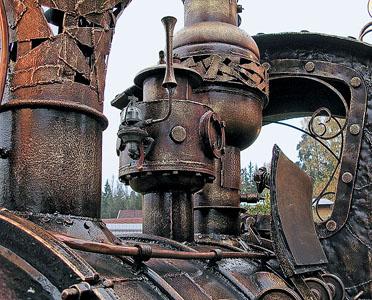 Мангал паровоз (Фото 5)