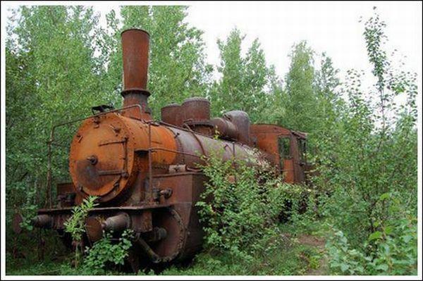 Кладбище паровозов (Фото 3)