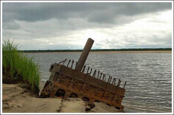 Кладбище паровозов (Фото 11)