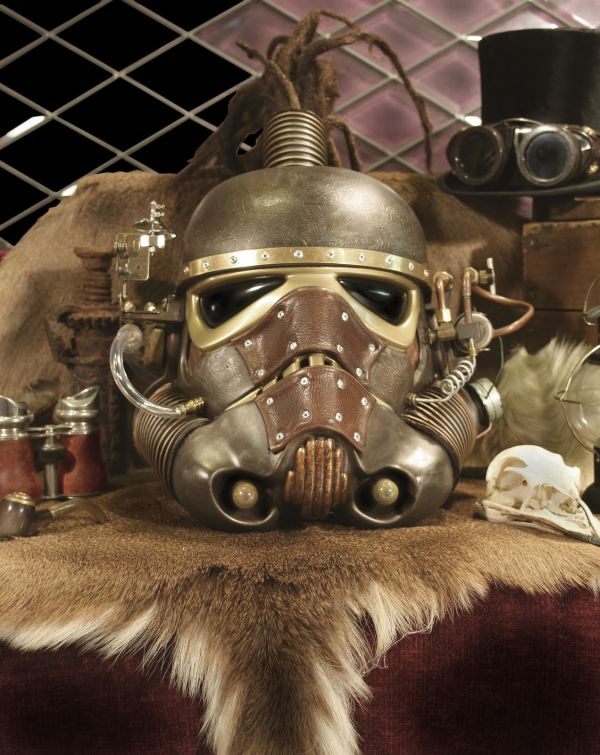 Stormtrooper helmet. Шапка штурмовика-стимера. (Фото 4)
