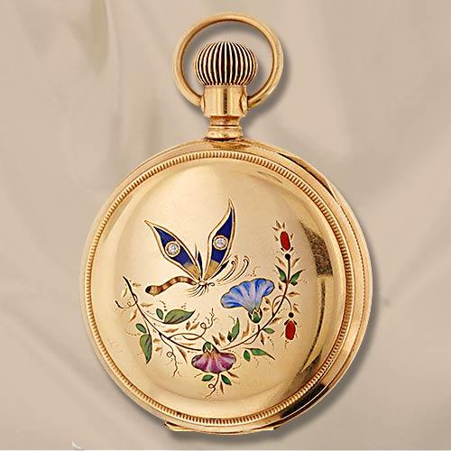 Часы-медальоны Викторианской эпохи