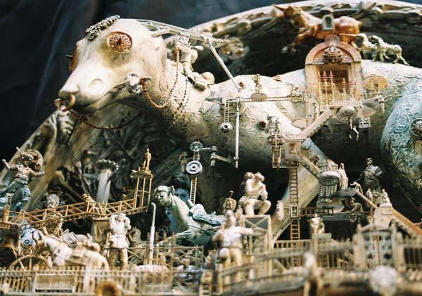 Машина апокалипсиса(мрачное искусство Криса Кукси) (Фото 12)