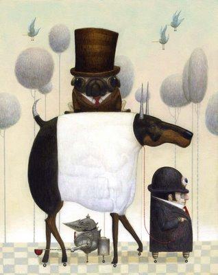 Cюрреализм в стиле стимпанк от художника Билла Кармэна(Bill Carman) (Фото 15)