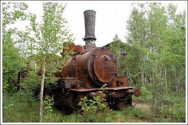 Кладбище паровозов (Фото 4)