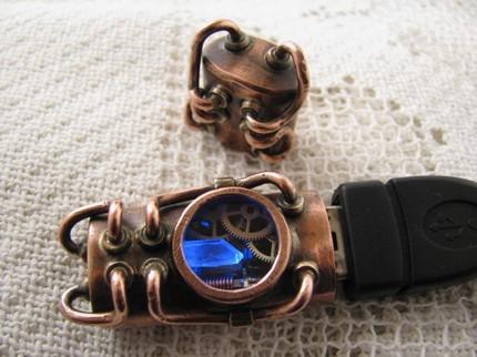 Флешки в cтиле Steampunk-3 (Фото 6)