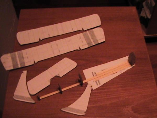X-wing в дереве,картоне и коже. (Фото 2)