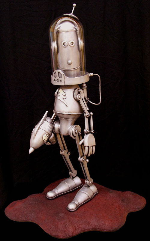 The Steampunk Robots Of Lawrence Northey. (Фото 2)
