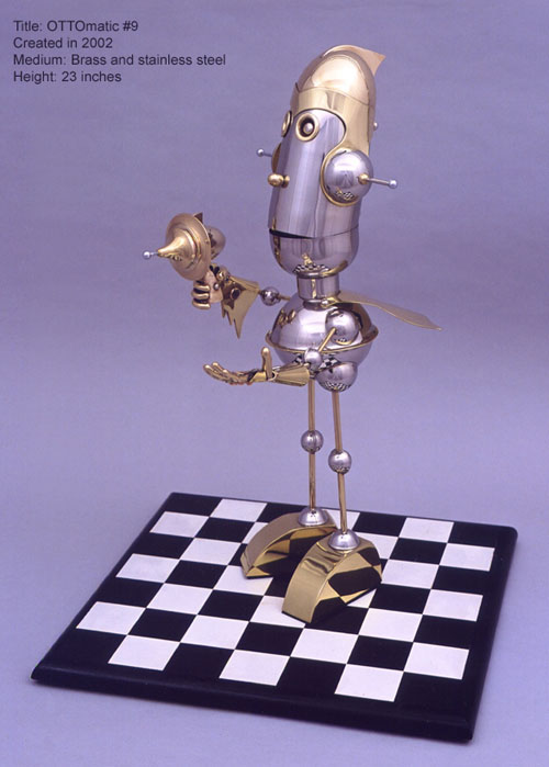 The Steampunk Robots Of Lawrence Northey. (Фото 17)
