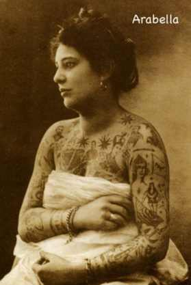 Викторианская татуировка. (Фото 7)