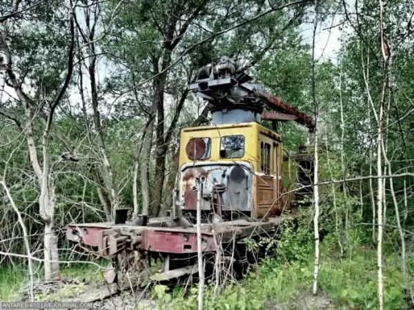 Кладбище поездов в Воскресенске (Фото 10)