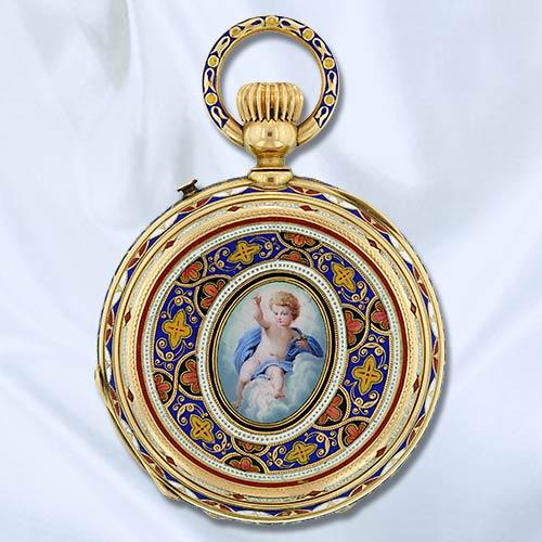 Часы-медальоны Викторианской эпохи (Фото 8)