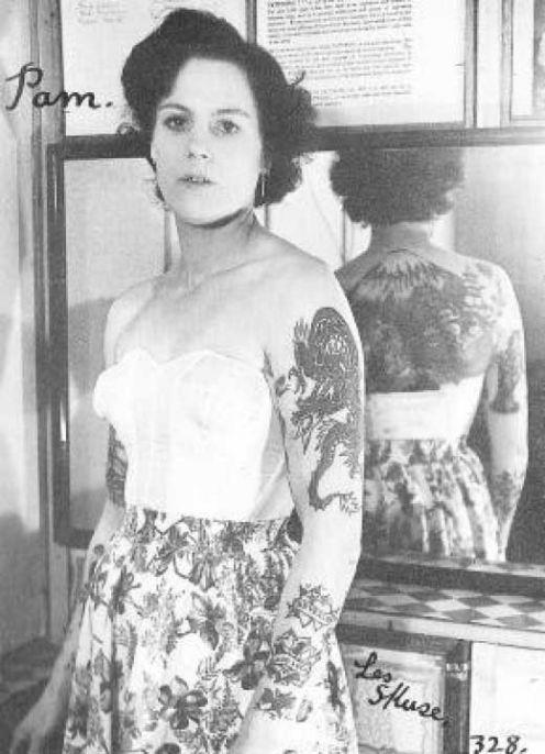 Викторианская татуировка. (Фото 21)