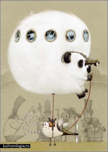 Cюрреализм в стиле стимпанк от художника Билла Кармэна(Bill Carman) (Фото 4)