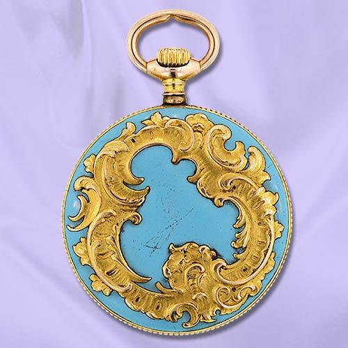 Часы-медальоны Викторианской эпохи (Фото 7)