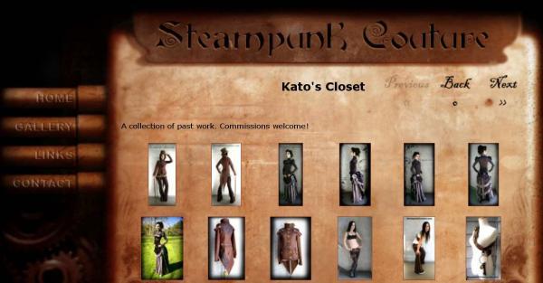 Стимпанк одежда от Kato